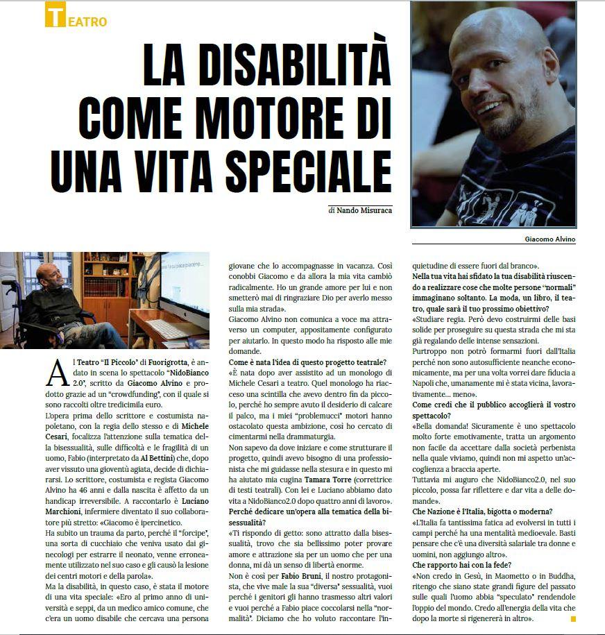 Intervista a Giacomo Alvino
